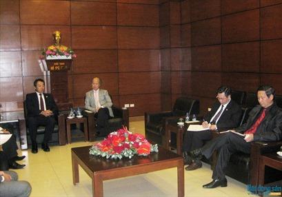 Chủ tịch Hiệp hội BĐS Việt Nam tiếp đại diện Tập đoàn Taisei Nhật Bản
