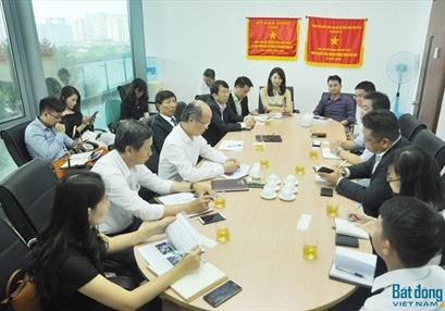 Chủ tịch Hiệp hội BĐS Việt Nam tiếp đại diện tập đoàn Daiwa House Nhật Bản