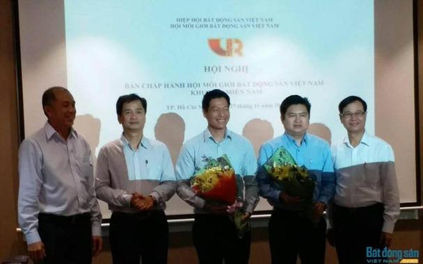 Ra mắt BCH Hội Môi giới Bất động sản Việt Nam khu vực phía Nam