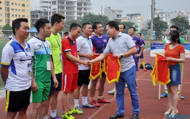 Khai mạc Giải bóng đá Hội Môi giới BĐS Việt Nam 2017