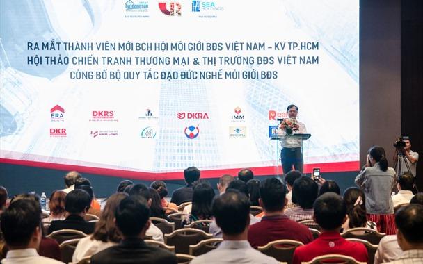 Hội Môi giới Bất động sản Việt Nam công bố bộ quy tắc đạo đức nghề môi giới